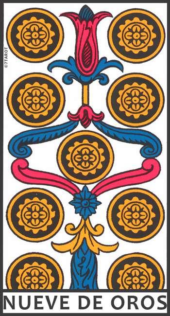 Nueve De Oros En El Tarot Significado 7tarot